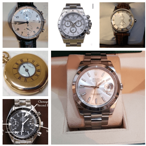 Sell a vintage or modern watch, Rolex, Omega, Seiko etc
