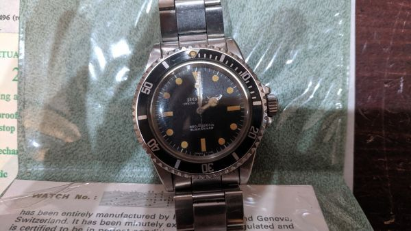 1971 Rolex Submariner (NAAFI)
